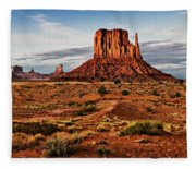 Monumental Butte Fleece Blanket
