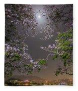 Moonlight And Magic Fleece Blanket