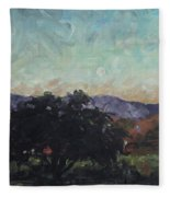 Moonlight Ranch Fleece Blanket