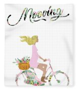 Mooving Fleece Blanket