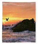 Morning Flight Serenity Fleece Blanket