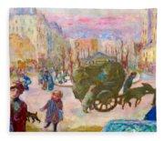 Morning In Paris - Digital Remastered Edition Fleece Blanket