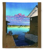 Morning In Yobuko, Hizen - Digital Remastered Edition Fleece Blanket