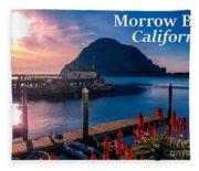 Morrow Bay California Fleece Blanket