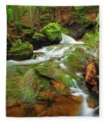 Mossy Glen Rollers Fleece Blanket