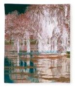 Mother Willow Altered Infrared Fleece Blanket