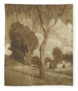 Motiv Aus Pommern  Fleece Blanket