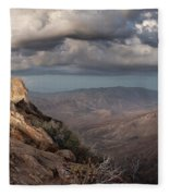 Mount Laguna At Dusk Fleece Blanket