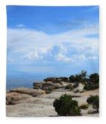 Mount Lemmon Fleece Blanket