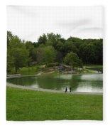 Mount Royale Parc Fleece Blanket