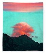 Mountain Daybreak Fleece Blanket