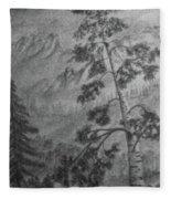 Mountain Outlook Fleece Blanket