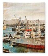 Ms Cap San Diego Fleece Blanket