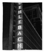 Muehlebach Hotel Kansas City Fleece Blanket