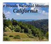 Muir Woods National Monument California Fleece Blanket