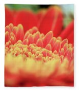 Mum Flower Fleece Blanket
