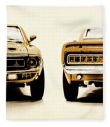 Muscle Machine Fleece Blanket