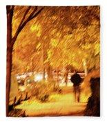 My Blurred World Fleece Blanket