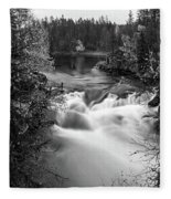 Myllykoski Bw Panorama Fleece Blanket