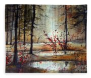 Mystic Forest Fleece Blanket