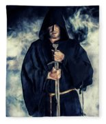 Mystic Monk Fleece Blanket