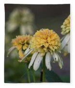 Nana's Garden Fleece Blanket