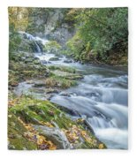 Nantahala Fall Flow Fleece Blanket