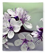 Naturalness And Flowers 33 Fleece Blanket