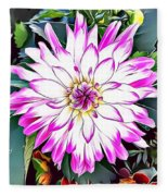Naturalness And Flowers 38 Fleece Blanket