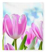 Naturalness And Flowers 40 Fleece Blanket