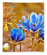 Naturalness And Flowers 47 Fleece Blanket