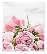 Naturalness And Flowers 49 Fleece Blanket