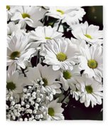 Naturalness And Flowers 52 Fleece Blanket