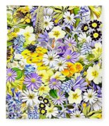 Naturalness And Flowers 54 Fleece Blanket
