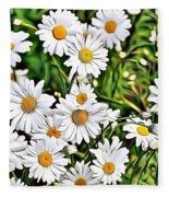 Naturalness And Flowers 57 Fleece Blanket