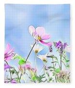 Naturalness And Flowers 59 Fleece Blanket