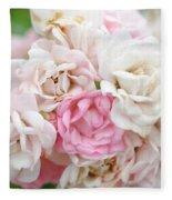Natures Wedding Bouquet Fleece Blanket