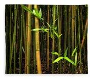 New Bamboo Shoot Fleece Blanket