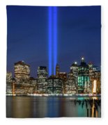 New York City 9/11 Commemoration  Fleece Blanket
