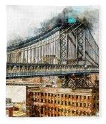 New York Panorama - 29 Fleece Blanket