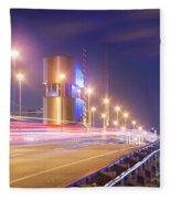 Night Transit Fleece Blanket