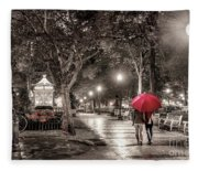 Night Walk Fleece Blanket