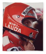 Niki Lauda. 1976 United States Grand Prix Fleece Blanket