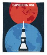 No1078 My Capricorn One Minimal Movie Poster Fleece Blanket