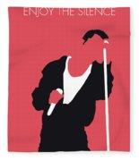 No242 My Depeche Mode Minimal Music Poster Fleece Blanket