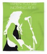 No276 My Alison Krauss Minimal Music Poster Fleece Blanket