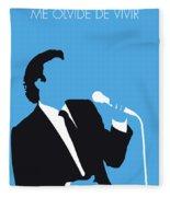 No279 My Julio Iglesias Minimal Music Poster Fleece Blanket
