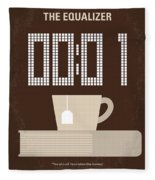 No973 My The Equalizer Minimal Movie Poster Fleece Blanket