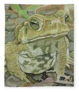 Noble Toad Fleece Blanket