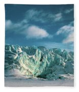 Nordenskioldbreen Fleece Blanket